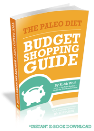 Cover Photo of Robb Wolf's Paleo Diet Shopping Guide Book